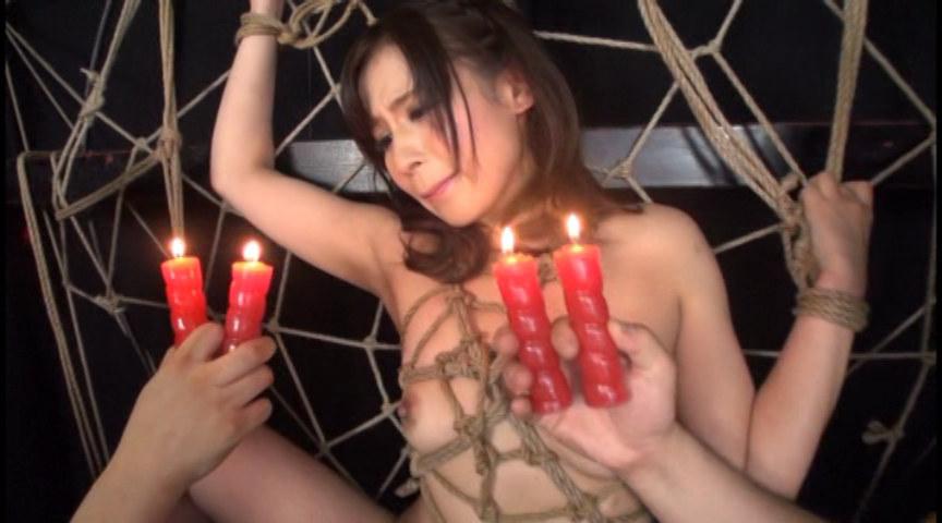 「蜘蛛緊縛 凌辱フィスト中出しFUCK 失神ギリギリで悶え狂う本気SEXが見てえんだ!!」-003